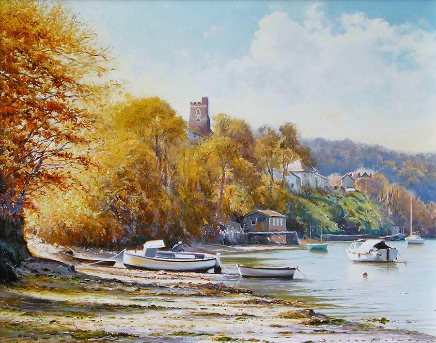 Autumn, Noss Mayo by Duncan Palmar