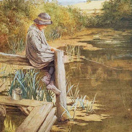 A Rustic Angler