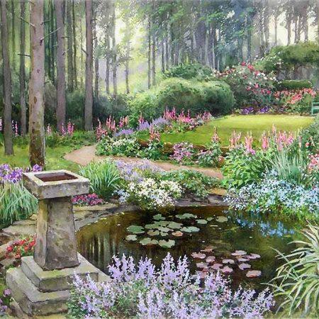 A Larchwood Garden