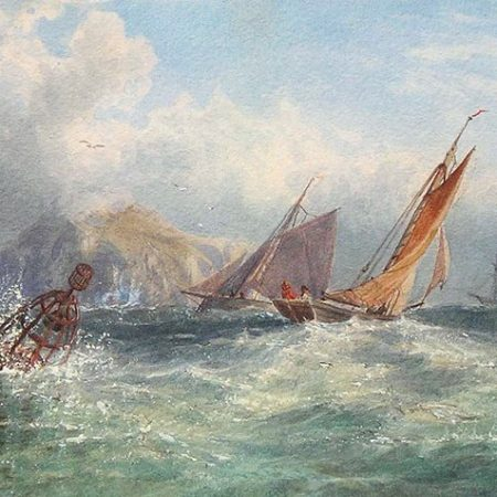 Vessels off the Coast