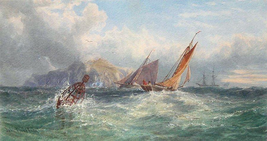 Vessels off the Coast by John Faulkner