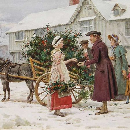 The Holly Seller
