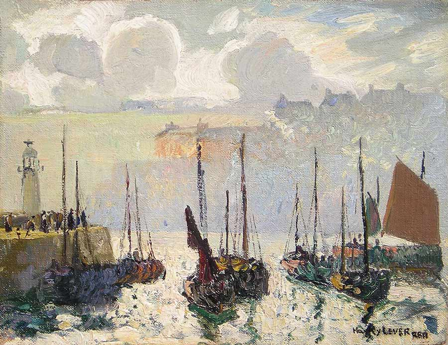 Morning Haze, St. Ives by Richard Hayley Lever