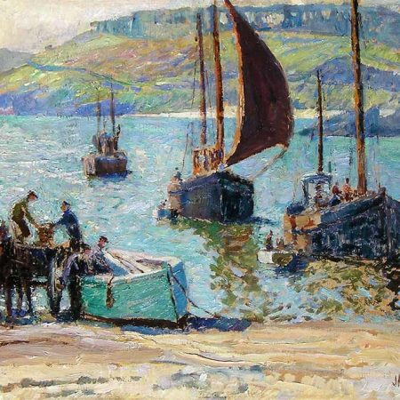 Fishing Boats, St. Ives