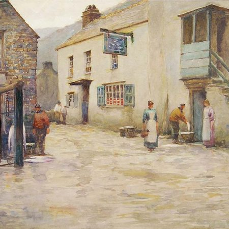 Weighing the Catch, Polperro