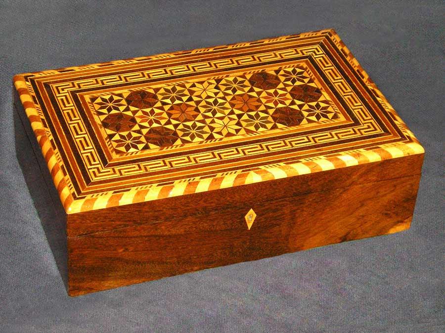Inlaid Sewing Box