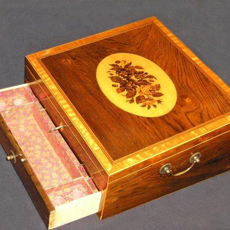 Tunbridge Ware Travelling Writing Box
