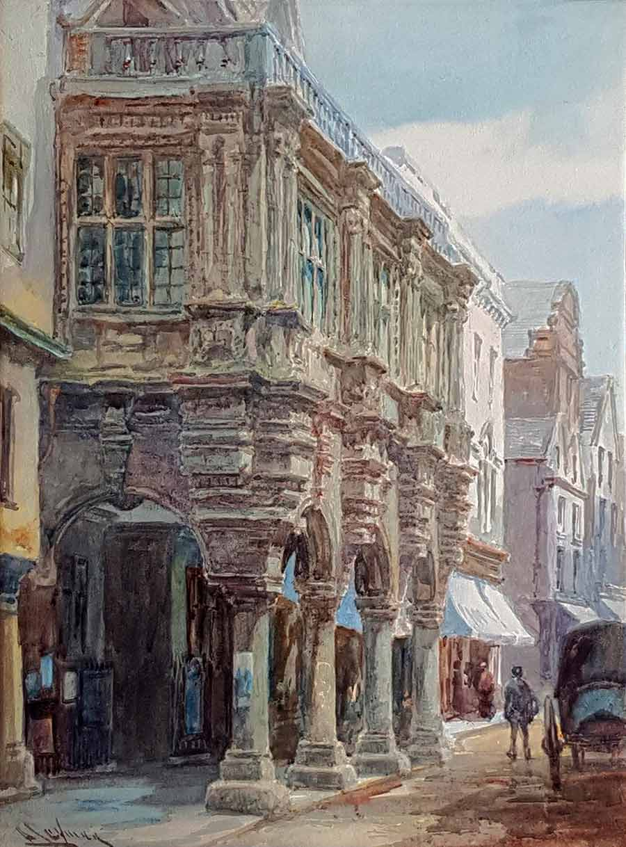 The Guildhall, Exeter by Alfred Leyman