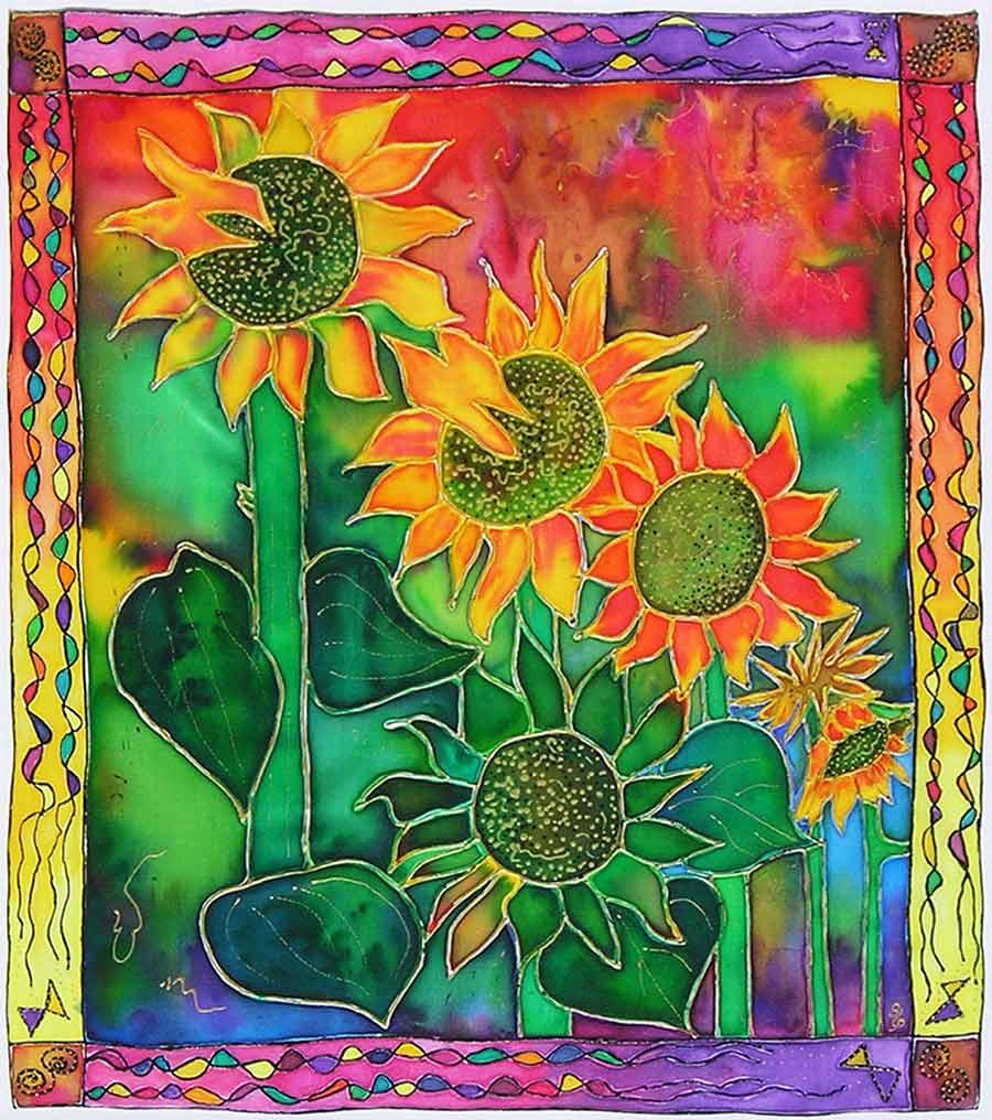 Sunflower Field by Bea Powell
