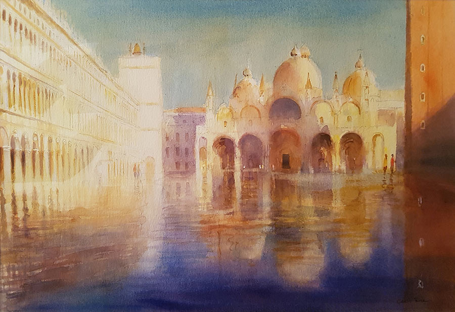 High Water, Piazza San Marco by Cecil Rice