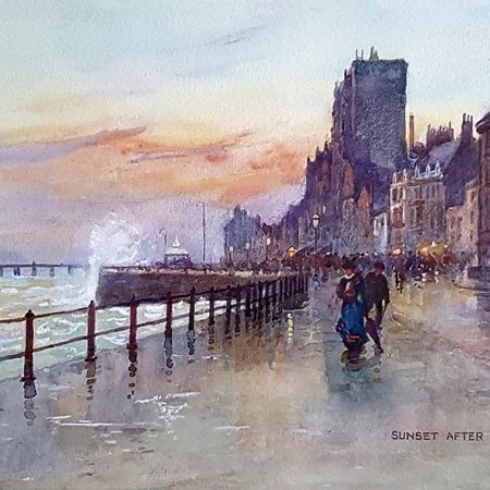 Sunset after Rain, Hastings