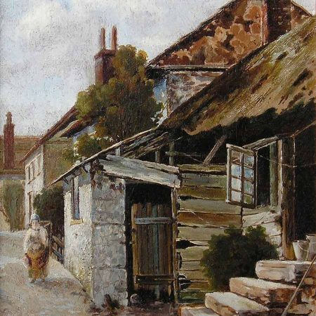 Cottages, Newlyn, 1887