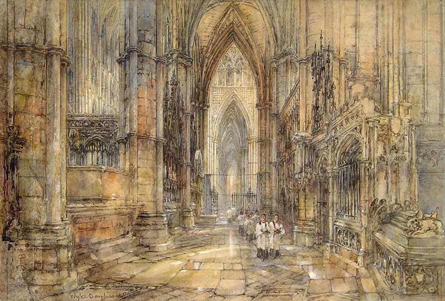 Westminster Abbey by Sir Wyke Bayliss