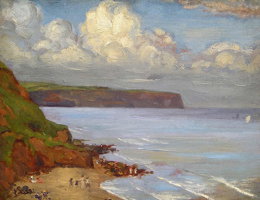 A Summer Cove by Garnet Ruskin Wolseley