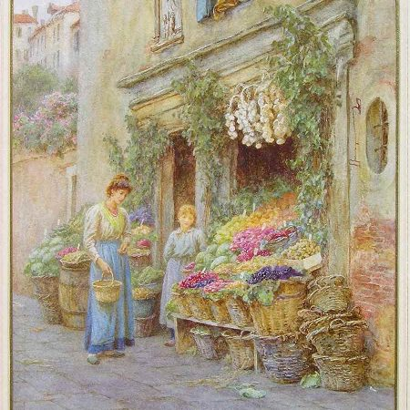 The Young Fruit Seller, Venice