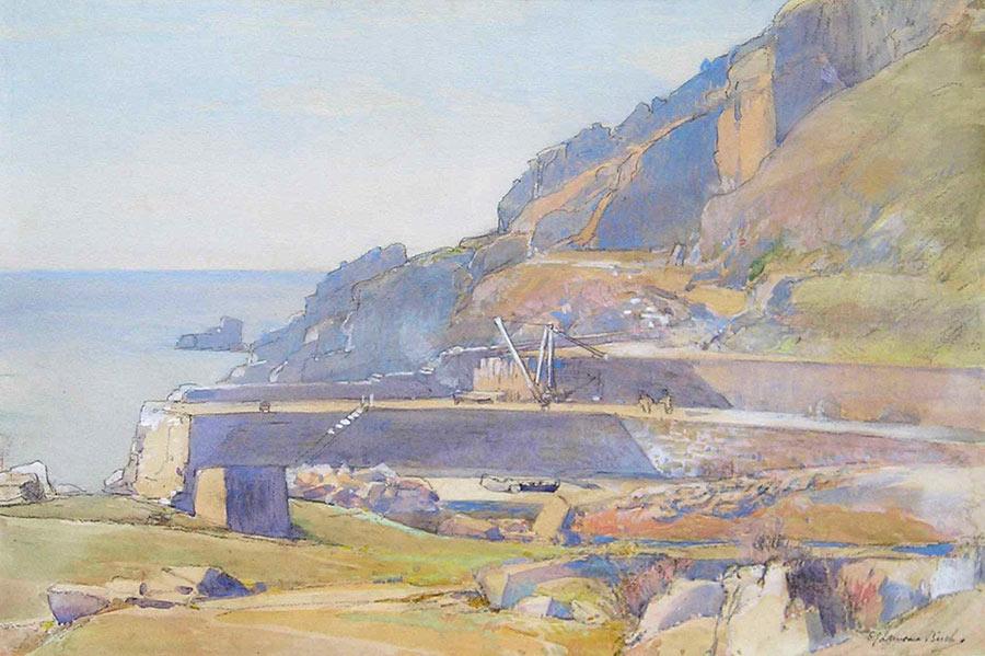 Lamorna Quay by Samuel John Lamorna Birch