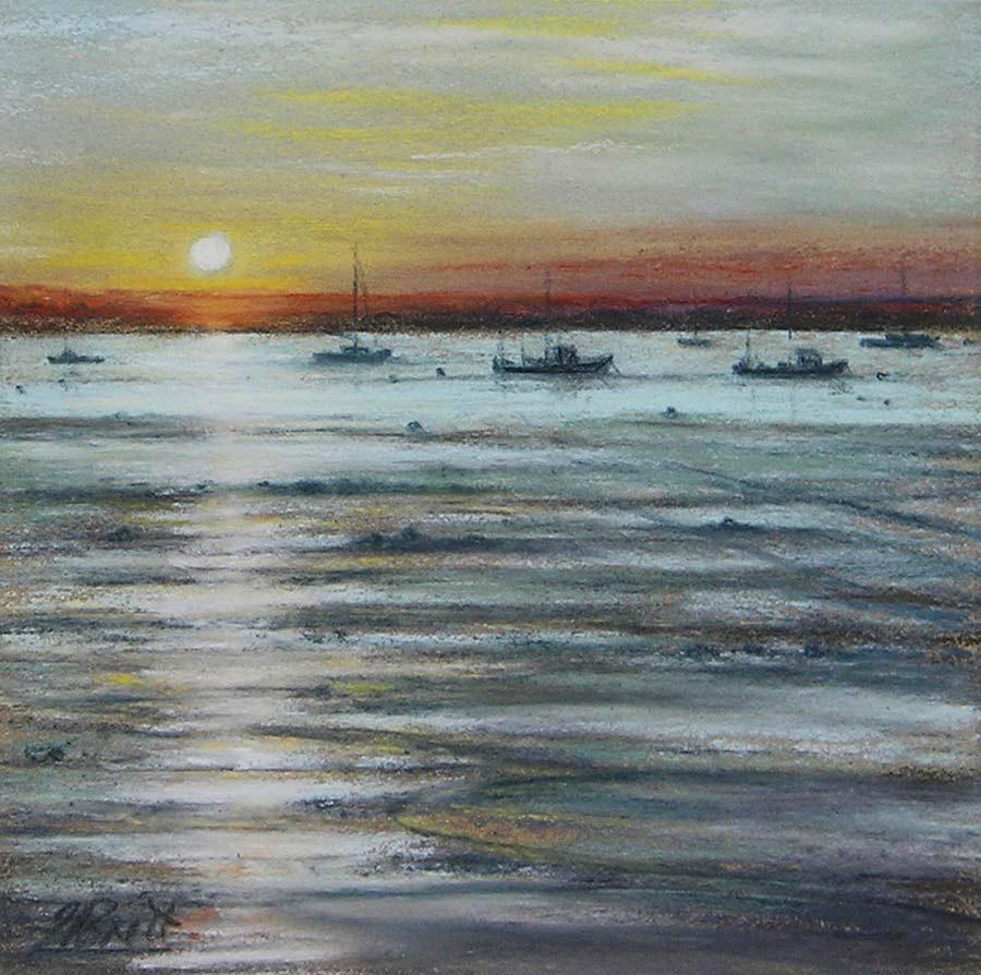 Golden Sunset by Julie Brett