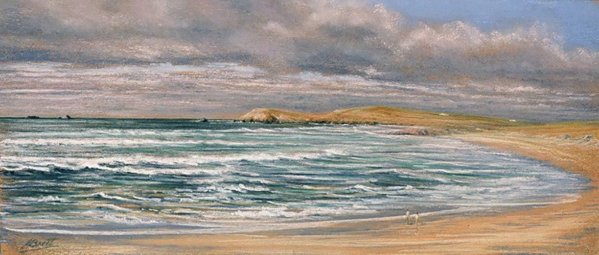 Summer Surf, Constantine Bay by Julie Brett