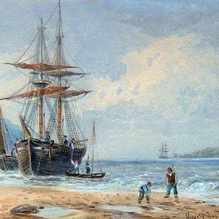 Mount's Bay, Cornwall, 1869