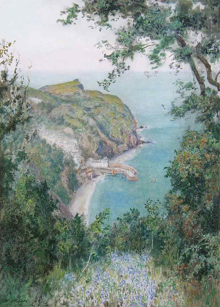 Clovelly by Claude Marks