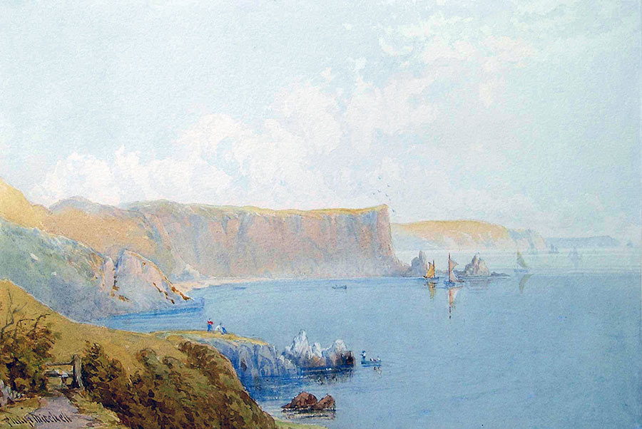 Anstey's Cove by Philip Mitchell