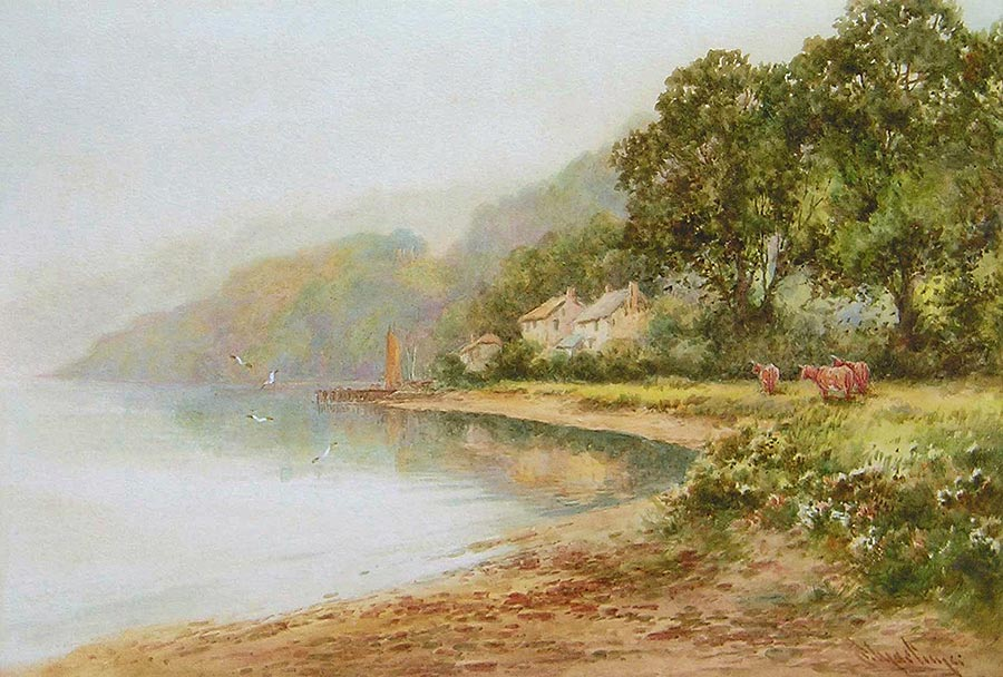 Dittisham on The Dart by Lewis Mortimer