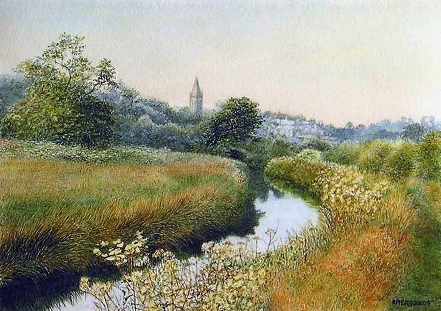 The Canal, Tavistock by Rosalind Pierson