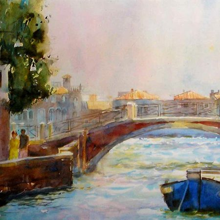 Blue Boat, Venice