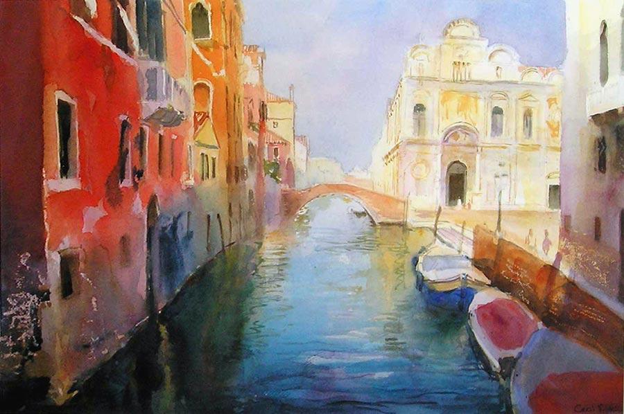 San Giovanni é Paolo, Venice by Cecil Rice