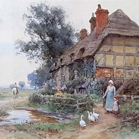 By the Cottage Gate