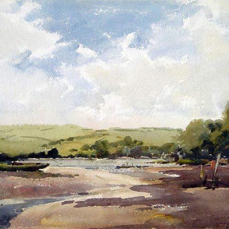 The River Dart near Dittisham