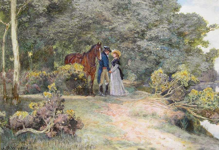 The Tryst by John Dawson Watson