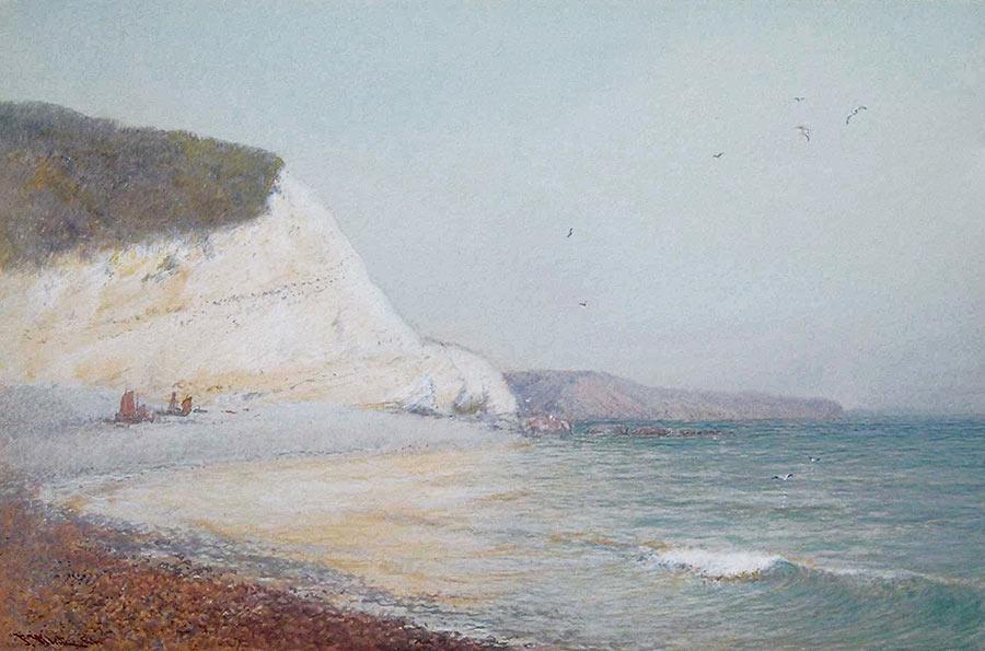 Beer Beach, East Devon by John White