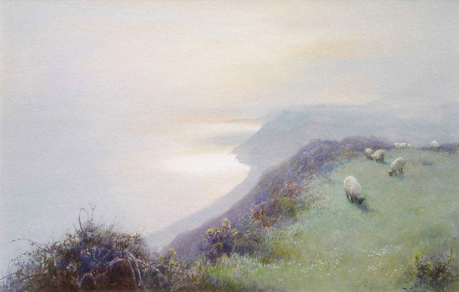 Sidmouth Bay from Beer Common by John White